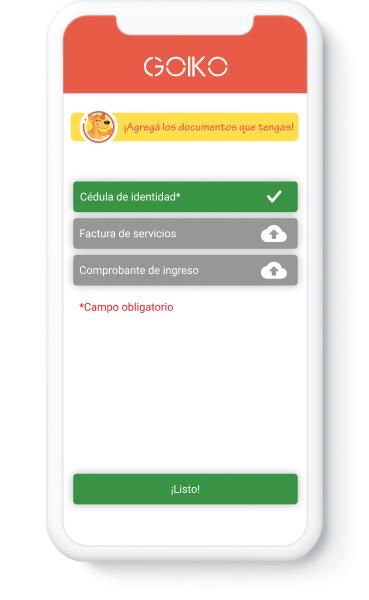 Goiko App - Préstamos